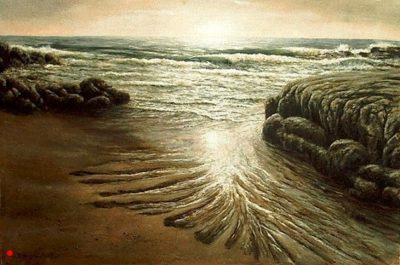 Ebb Tide at Sunrise